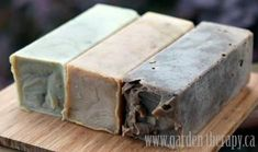 soap Recipes--I want to try these... They look great!
