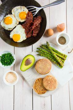 Spargel Frühstücks Burger von den [Foodistas]