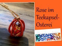 Schmuck für den Osterbaum aus Nestlé-T-Kapseln www.die-magische-kapsel.jimdo.com www.bastelware.ch Unser Partner für Schmuck- und Bastelzubehör