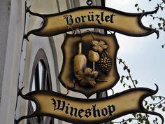 Wineshop sign - Tokaj, Hungary