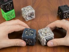 With the Cubelets Modular Robotics Kit, you no longer need to be a rocket scientist to be able to build and program your own robot. The kit consist of modular robot cubes that snap together like building blocks to build interesting and complex robots.