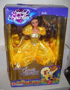 5410 Mattel Disney Special Sparkles Belle from Beauty The Beast | eBay