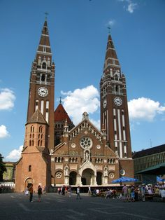 The Votive Church of Szeged #Hungary, Alfold, 40 min drive from the Tanya - great place to visit