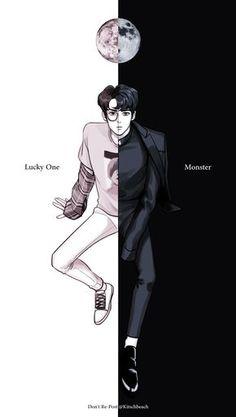 Lucky one vs Monster Sehun Sehun, Kpop Anime, Anime Guys, Cover Wattpad, Chibi, Exo Monster, Fanart Bts, Arte Fashion, Comic Manga