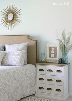 DIY Ikea Rast Hack by Blogger House by Hoff featuring Antique White from Pittsburgh Paints & Stains