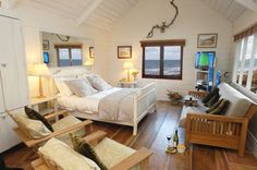 The Beach Hut in North Cornwall, Luxury Seaside Beach Hut Cornwall