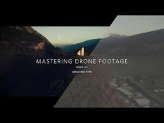 Grade Low-Cost Aerial Video – Mastering Drone Footage – PART 3 - YouTube