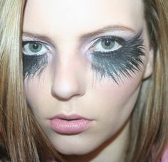 Fallen angel make up | Costumes | Pinterest | Angel, Halloween ...