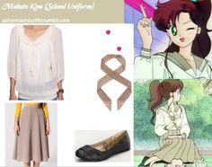 Makoto - day outfit  (Sailor Jupiter)  Sailor Moon Outfits