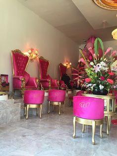 ❤ this pedicure station is adorable nail salon decor ideas nail room salon. Pedicure Station, Nail Station, Nail Salon Decor, Beauty Salon Decor, Neutral Wedding Nails, Luxury Nail Salon, Nail Room, Salon Design, Design Design