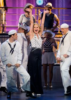 Sutton Foster in Cole Porter's Anything Goes-great show!  Saw it in December 2011...