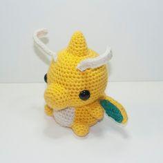 Dragonite by Heartstringcrochet.deviantart.com on @DeviantArt