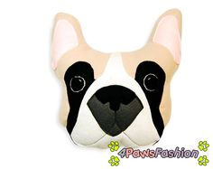 Boogie the French Bulldog Pillow. Black- Fawn- White Frenchie Plush Toy. Doggie Pillow.Handmade Home Decoration for All Dog Lovers.Kids by 4PawsFashion on Etsy https://www.etsy.com/listing/221656917/boogie-the-french-bulldog-pillow-black