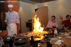 Hosokawa, a Japanese steakhouse and sushi bar in Amsterdam