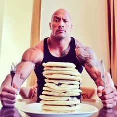 Hell, I thought every day was National Pancake Day... #Dominator #UncleJemima
