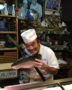 Yoshihachi Sushi. Hours: Dinner only, 4:30-10 p.m. (last order); Closed on Tuesdays Phone: 098-936-2359 Payment: Dollars or Yen (no credit card) Address: 587-2 Kuwae, Chatan-chō, Nakagami-gun, Okinawa-ken 904-0103, Japan   Okinawa Hai!