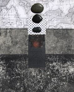 beach stones collage | d. Watson | Flickr