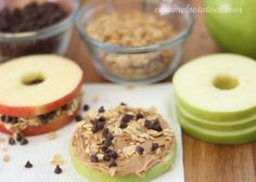 Awesome Healthy Snack For Kids – Apple Bagel Sandwich Ideas. Gloriously Healthy Snack For Kids – Apple Bagel Sandwich Ideas. Healthy Bedtime Snacks, Healthy School Snacks, Healthy Protein Snacks, Healthy Afternoon Snacks, Healthy Snacks For Kids, Healthy Foods To Eat, Kid Snacks, Healthy Eating, Simple Snacks
