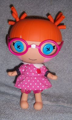 Lalaloopsy Specs Reads A Lot Little Sister to Bea Spells Alot | eBay