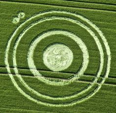 Crop Circle at Cherhill, Wiltshire 06/25/12