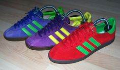 A STUNNING TRIO FROM THE ADIDAS CITY SERIES