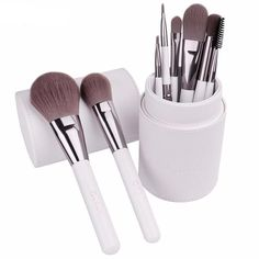 8pcs Professional Cosmetics Brush Set