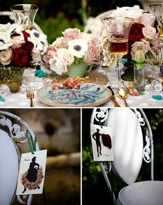 Spanish Themed Vintage Dinner Patio Party - Karas Party Ideas - The Place for All Things Party