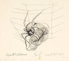 "Garth Williams's original ""Charlotte's Web"" illustrations"