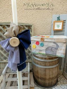 Baby Boy Baptism, Christening, Party Ideas, Candles, Weddings, Decoration, Creative, House, Decorating