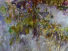 Claude Monet Wisteria (left Half) Oil Painting Reproductions for sale Art Prints, Art Painting, Fine Art, Painting, Impressionist Paintings, Painting Reproductions, Art, Artist Monet, Posters Art Prints