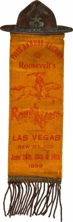 1st Rough Rider Reunion Badge