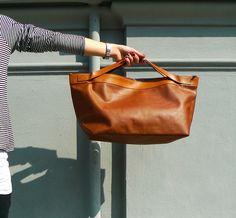 Trakatan Hart Made - Image of SS12_leather tote bag