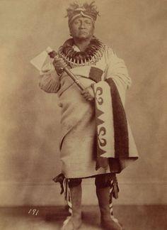 An old photograph of Dead Indian aka Qua-Qua-Ouf-Pe-Ka - Saux and Fox 1868.
