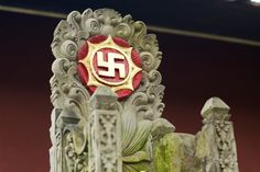 Le signe SWASTIKA, symbole de prospérité à Bali #bali #signe #swastika