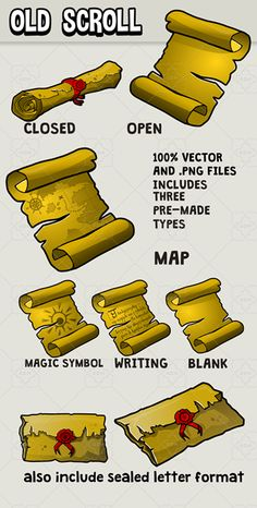 Scrolls icon has just been added to GameDev Market! Check it out: http://ift.tt/1RRO2CN #gamedev #indiedev