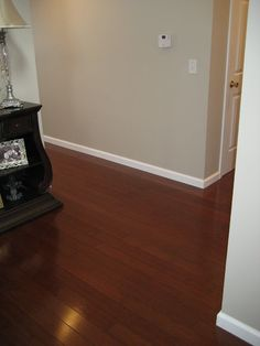 Dark Cherry Bamboo Hard Wood Floors