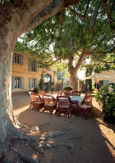 Ginny Magher's house in Provence.