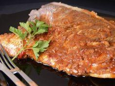 Receta | Pargo con salsa picante - canalcocina.es