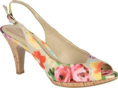 Naturalizer floral slingback low heel shoe