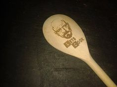 Breaking Bad Mixing Spoon - Lets Cook - Laser Engraved - Ideal Gift That Can Be Personalised! UK