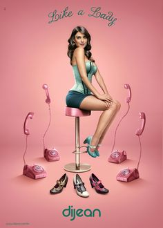 Dijean Like a Lady by Studios Meca, via Behance
