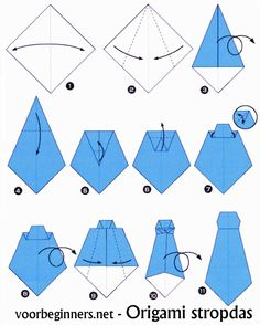 How to make a tie Instructions for a paper tie Origami Instruções Origami, Origami Shirt, Origami Dress, Oragami, Dollar Origami, Pioneer School Gifts, Pioneer Gifts, Origami Instructions, Origami Tutorial