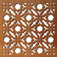 Beautiful custom made pattern screens http://lightwavelaser.com/library-of-patterns.htm