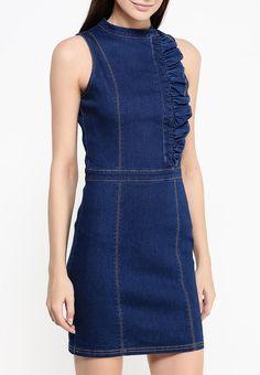 Платье LOST INK MARIKO DENIM BODYCON DRESS купить за 2 230 руб LO019EWJOV66 в интернет-магазине Lamoda.ru