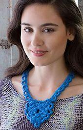 Ravelry: Celtic Heart Necklace pattern by Jennifer E. Ryan...free pattern!