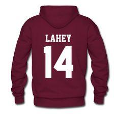 LAHEY 14 - Hoodie (XL Logo, NBL) | TEEN WOLF Merchandise (All purely FAN MADE :)