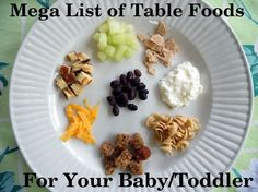 It is time to talk about the first real-deal table foods you should give your baby. Most of the ideas I am sharing are for babies 10 months and up, but it really depends on how well your baby or toddler is chewing up foods. You could be introducing these a little earlier or later. …