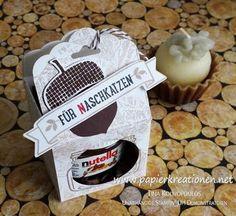 Papierkreationen.net: Meine Swaps vom Teamtreffen: Mini-Nutella Verpackung