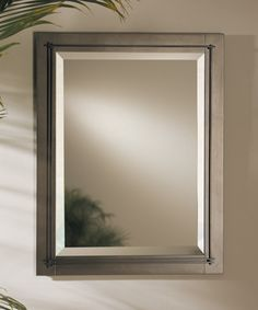 "Metra Mirror 28"" h and 22 "" w,  bronze finish 710116-05"