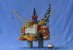 Statfjord-A Lego, Legos